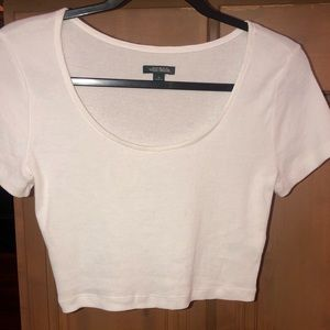Wild Fable White Crop Top